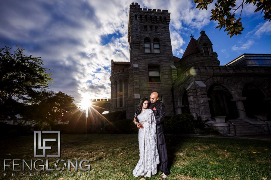 Serana & Saifur Engagement Session   Rhodes Hall & Centennial Olympic Park   Atlanta Bangladeshi Wedding Photography