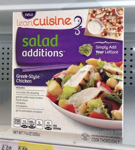 Lean Cuisine Greek-Style Chicken Salad Additions
