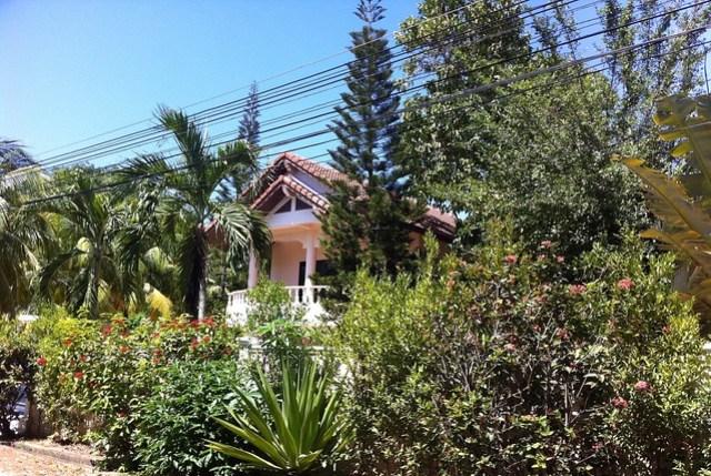 Our well hidden villa