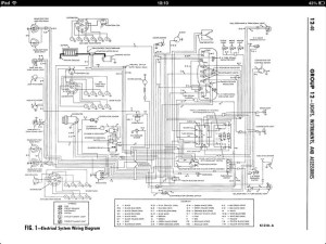1962 ford Galaxie wiring diagram | Flickr  Photo Sharing!