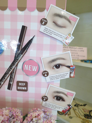 Singapore Beauty Blog, Singapore Beauty Blogger, Japanese Makeup brands, K-Palette reviews, K-Palette giveaways, K-Palette Sweet as chocolate, nadnut, Singapore Lifestyle blog, Brown eyeliners