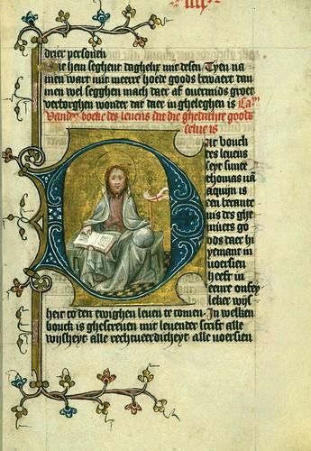 022-Fol 4r-W.171, DUKE ALBRECHT'S TABLE OF CHRISTIAN FAITH (WINTER PART)-1400-The Digital Walters