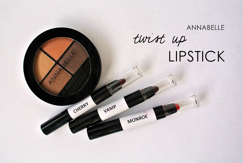 Annabelle Twist Up Lipstick Crayon -swatch