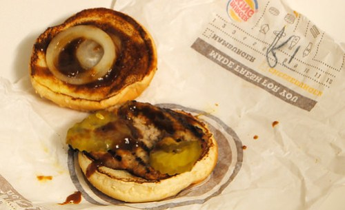 Burger King BBQ Rib Sandwich 2