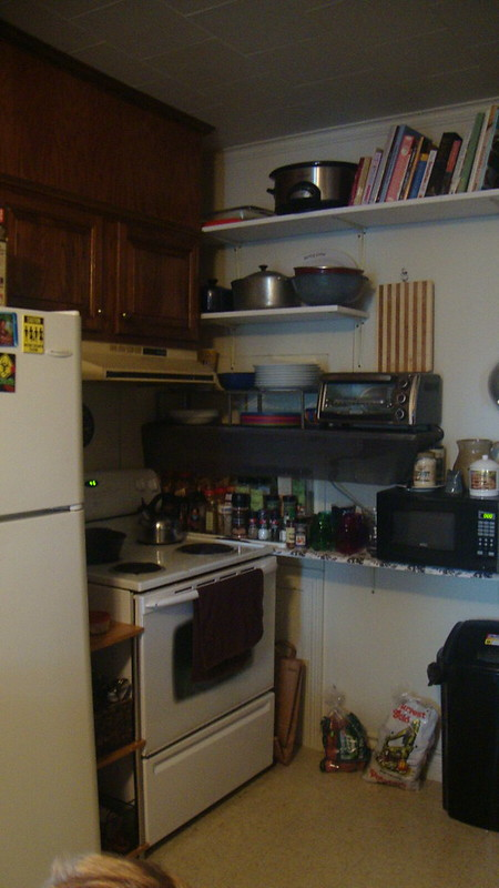 My organized tiny kitchen