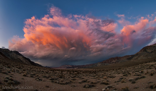 Death Valley Thunderstorm #1