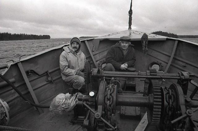 Серега и рыбак