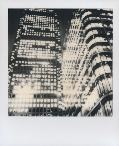 Canary Wharf - Impossible Project Instant Lab test unit