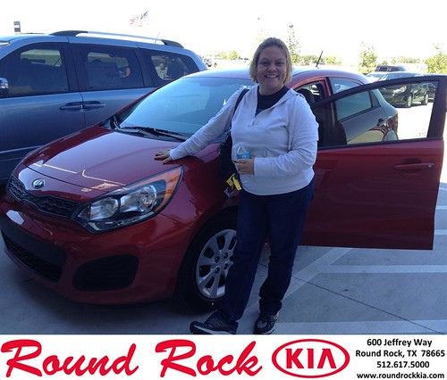 Thank you to Amanda Hodges on your new 2013 #Kia #Rio from Bobby Nestler and everyone at Round Rock Kia! #LoveMyNewCar by RoundRockKia
