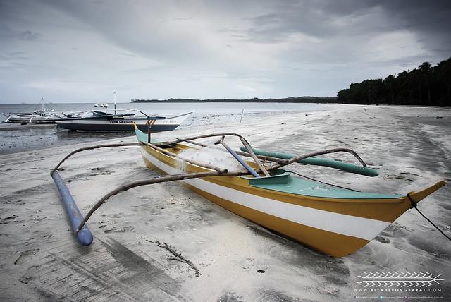 Jawili Beach Tangalan Aklan fishing boat