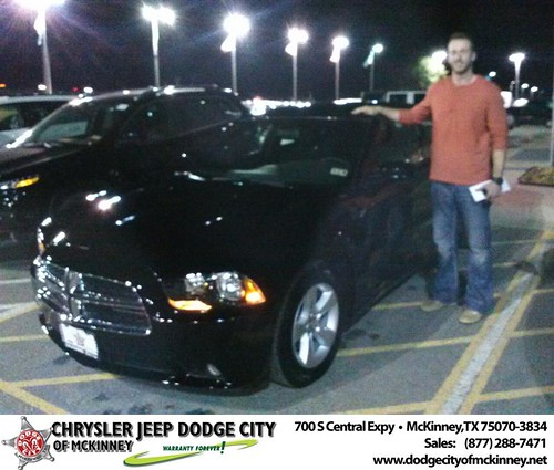 Thank you to John Sutton on your new car  from David Walls and everyone at Dodge City of McKinney! #NewCar by Dodge City McKinney Texas