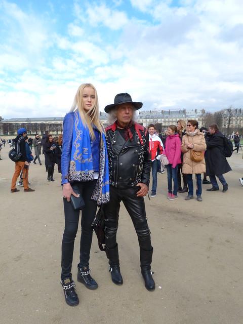 #StreetStyle #PFW Viktor&Rolf #AW14
