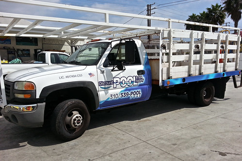 Discount Pool Delivery Truck Wrap