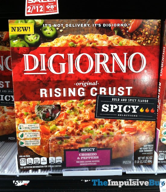 DiGiorno Spicy Selections Chorizo & Peppers Pizza
