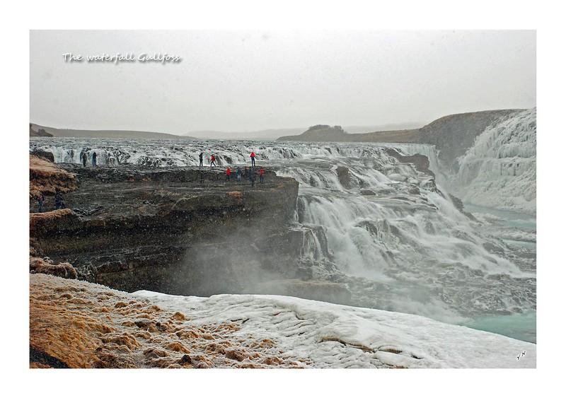 The waterfall Gullfoss2