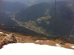 Ausblick nach Brixen von der Eidechsspitze