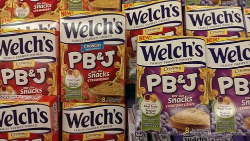 Welch's PB&J Snacks