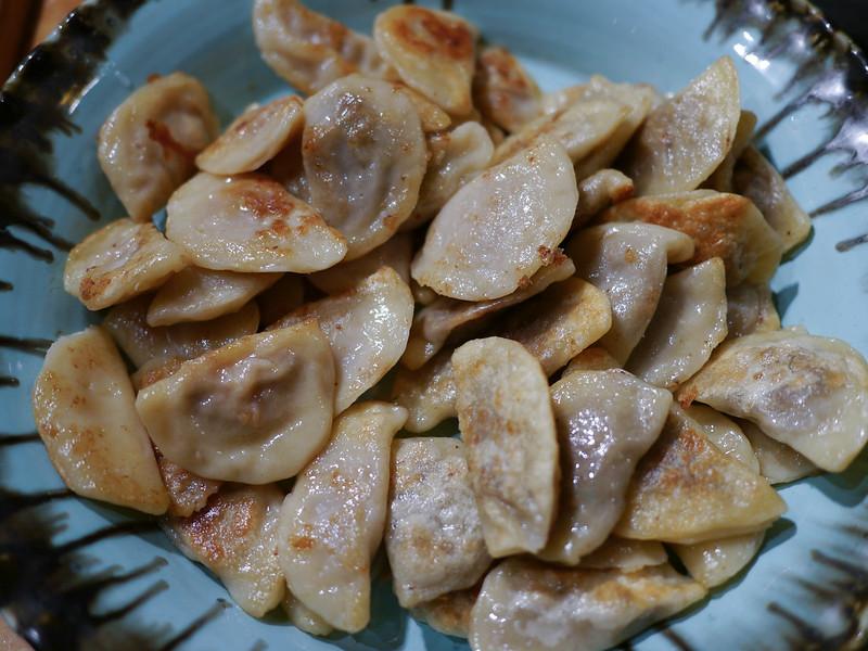 Pierogies - Mushroom and Moroccan Lamb