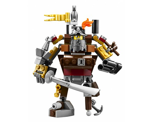 The LEGO Movie 70810 MetalBeard's Sea Cow Figures Mini Metalbeard