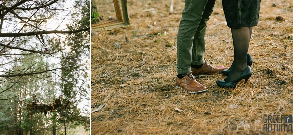 Wedding Creative Inspiration Hamilton Woodland engagement Photography 0029