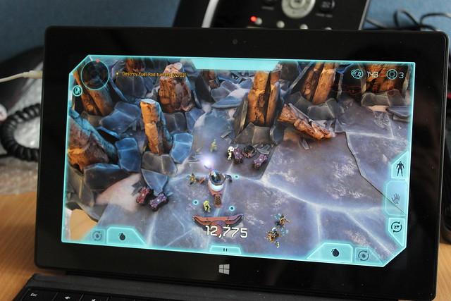 Halo Spartan Assault on a Surface RT