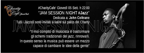 AL CHARITY TORNA LA JAM SESSION NIGHT #Jazz by cristiana.piraino