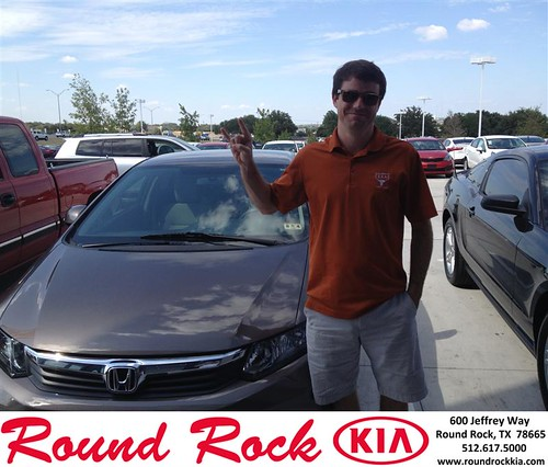 Thank you to William Kehoe on your new 2012 Honda Civic Sdn from Bobby Nestler and everyone at Round Rock Kia! by RoundRockKia