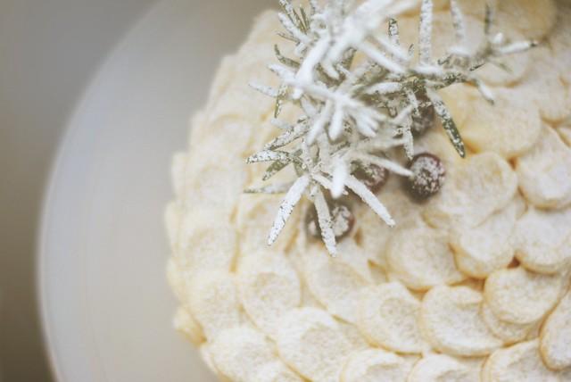 Minty Snow Cake