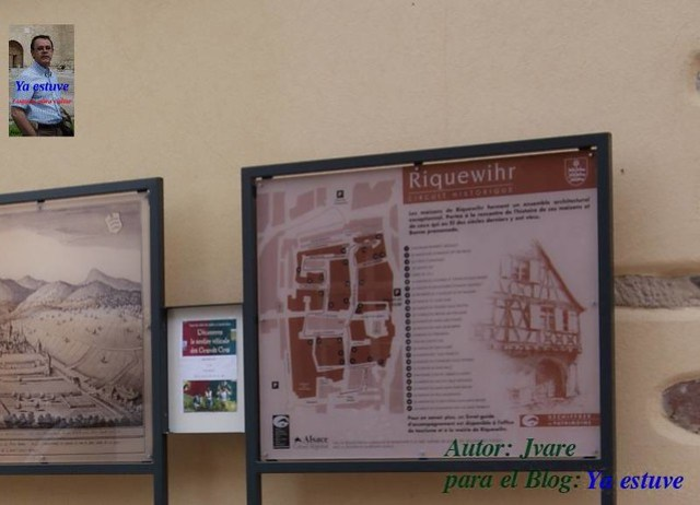Plano Riquewihr pueblo medieval