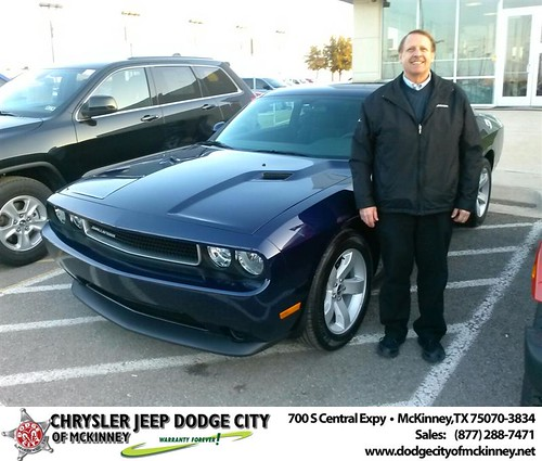 Thank you to Joe Grantski on your new 2014 #Dodge #Challenger from David Walls and everyone at Dodge City of McKinney! #NewCar! by Dodge City McKinney Texas