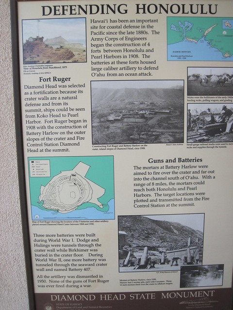Picture from Diamond Head Crater