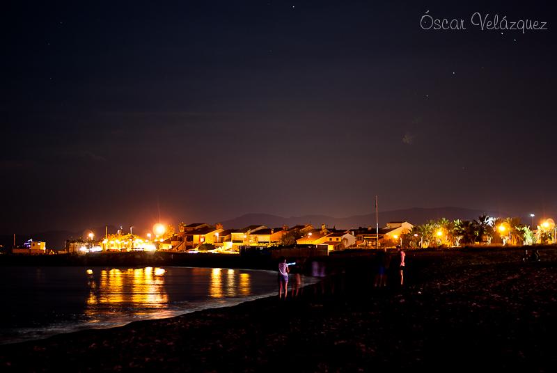 Canet vu depuis Sainte Marie de la Mer