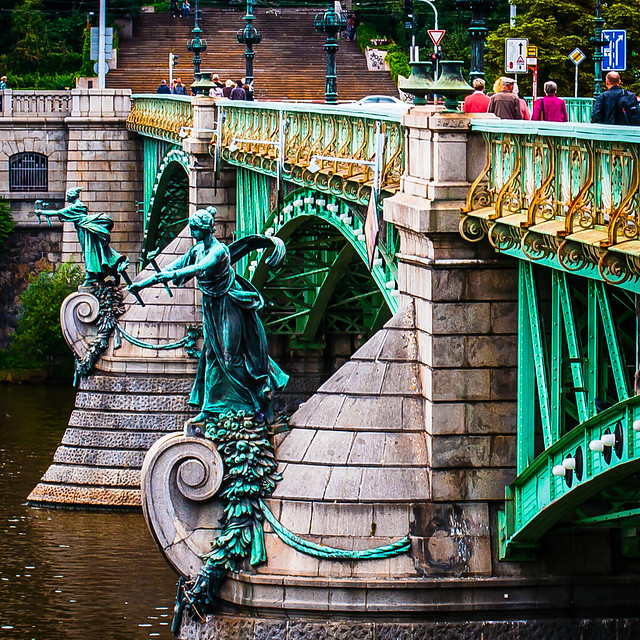 Chechuv Bridge, Prague