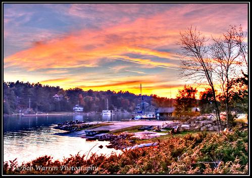 Killarney Fall Sunset