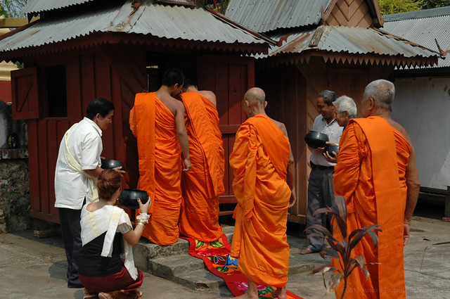 The day he became a monk - April 2009