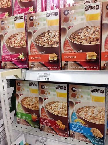 New Meijer Instant Oatmeal Flavors