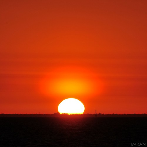 Sunset Reflects Over Top Of The Sun - IMRAN™ by ImranAnwar