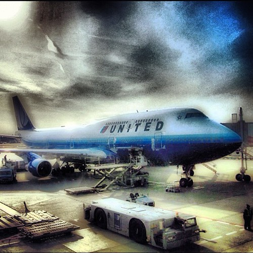 Not everyday you find United flying a 747 from DEN-SFO but I was lucky that day by @MySoDotCom