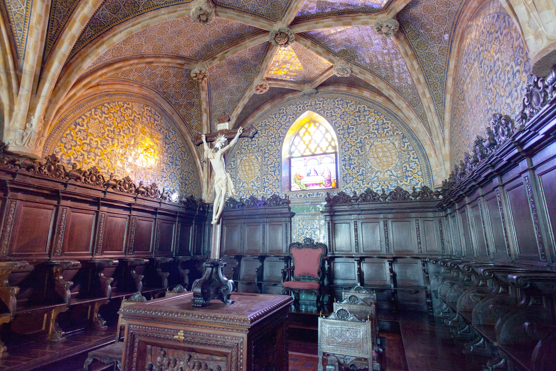 The Chapel, Pena Palce, Sintra, Portugal.