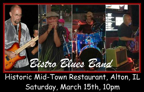 Bistro Blues Band 3-15-14