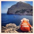 Elefant Henry loves this place at Sa Calobra