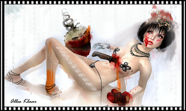 The Halloween Pinup Girl