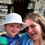 Mairi and Bobbie at Fellfoot