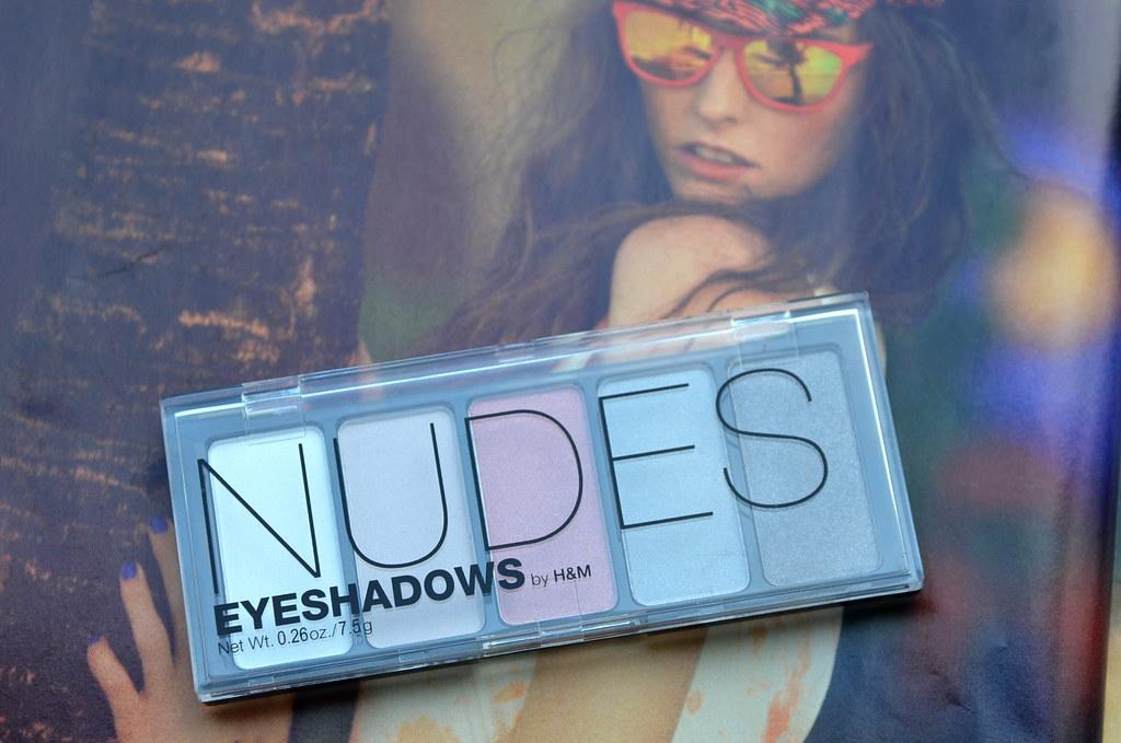 hm nude eyeshadows