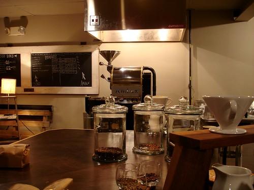 Raleigh Coffee Company Equipment