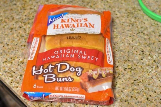 split top hot dog buns