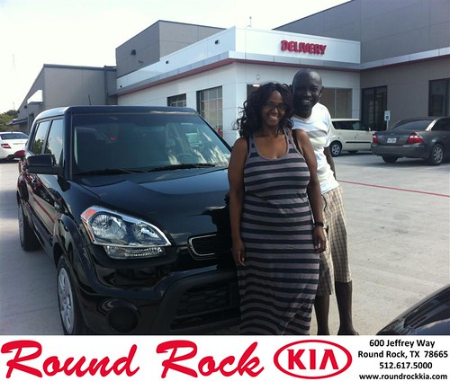 Thank you to Jude Esiovwa on your new 2013 #Kia #Soul from Amir Mahboubi and everyone at Round Rock Kia! #NewCarSmell by RoundRockKia