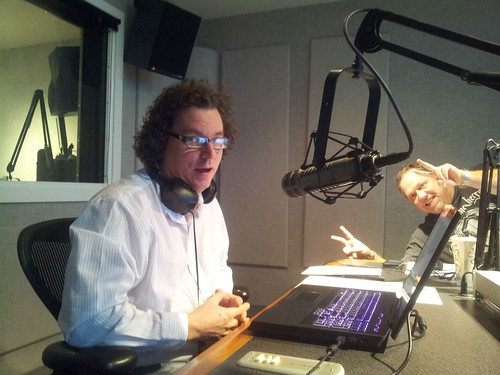 "John ""Shu"" Shumaker normally behind the scenes was a special guest on the show by theaneshow"