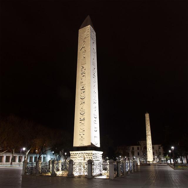 Egyptian obelisk, Hippodrome, Istanbul.