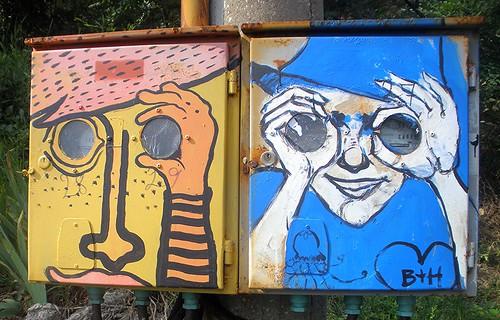 Veliko Tarnovo Street Art by dibach